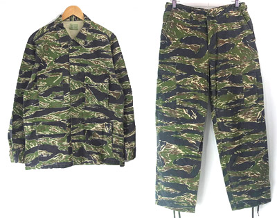 タイガーストライプ(新品) BDUパンツ・ジャケット