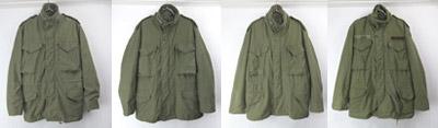M-65フィールドジャケット セカンド