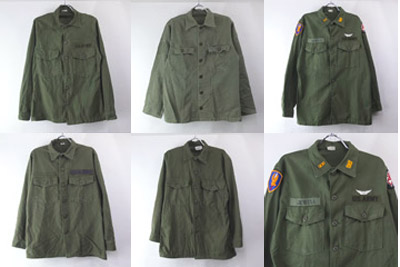 米軍ユーティリティシャツ