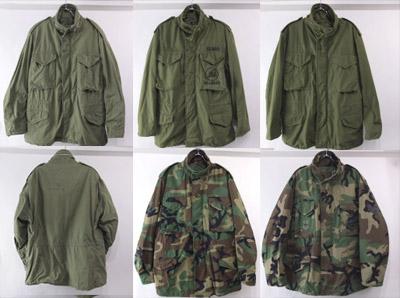 M-65フィールドジャケット ウッドランドカモLR/ML セカンドLR サードSR/MS