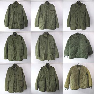 M-65フィールドジャケット、ライナー
