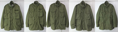 M65フィールドジャケットセカンドタイプ