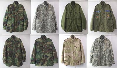 M65 フィールドジャケット OD/ウッドランドカモ/デザートカモ/ユニバーサルカモ
