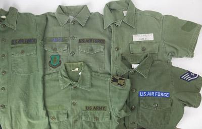 米軍 半袖ユーティリティシャツ