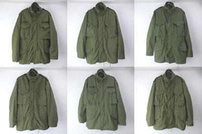 M-65フィールドジャケット セカンドSR/MR サード SR/XSR