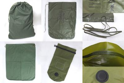 米軍ランドリーバッグ、ウォータープルーフバッグ