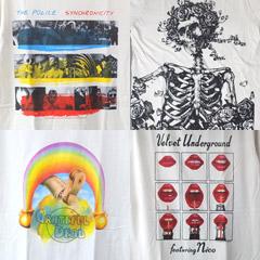 新品のロック・バンドTシャツ