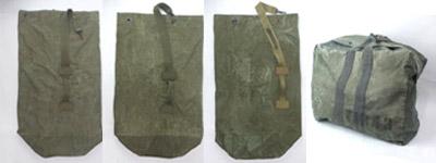 米軍ダッフルバッグ、キットバッグ