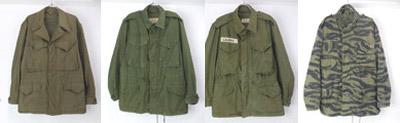 M1943/1951/65フィールドジャケット