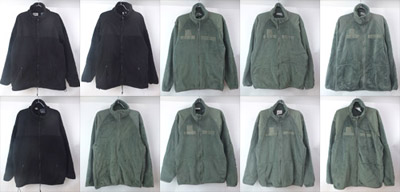 ユーズドのECWCS ポーラテックフリースジャケット