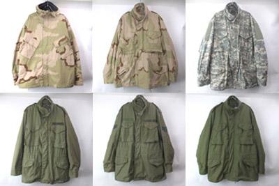 M-65フィールドジャケットと3Cカモケミカルパーカ