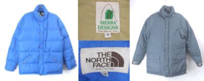 ノースフェイス、シェアラデザイン ダウンジャケット