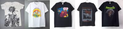ロック・バンドTシャツ