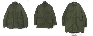 M-65フィールドジャケット、パーカー