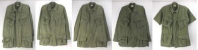米軍ジャングルファティーグシャツジャケット