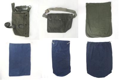 デニムランドリーバッグ、セルビア軍ガスマスクバッグ