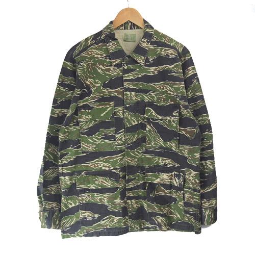 タイガーストライプBDUシャツジャケット