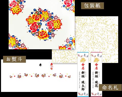 包装紙・お熨斗・命名札