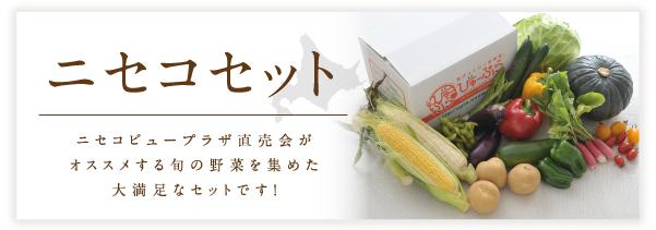 野菜セットの商品バナー