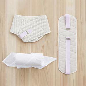 「井登美」へちまの帯板、帯枕、ウエストパッド
