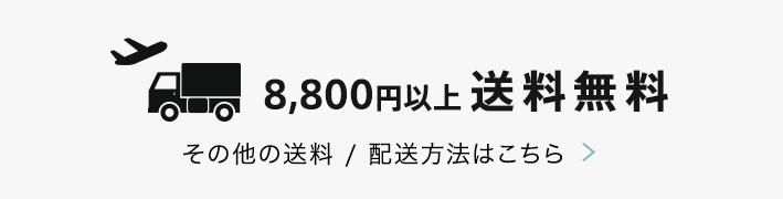 8800円以上送料無料