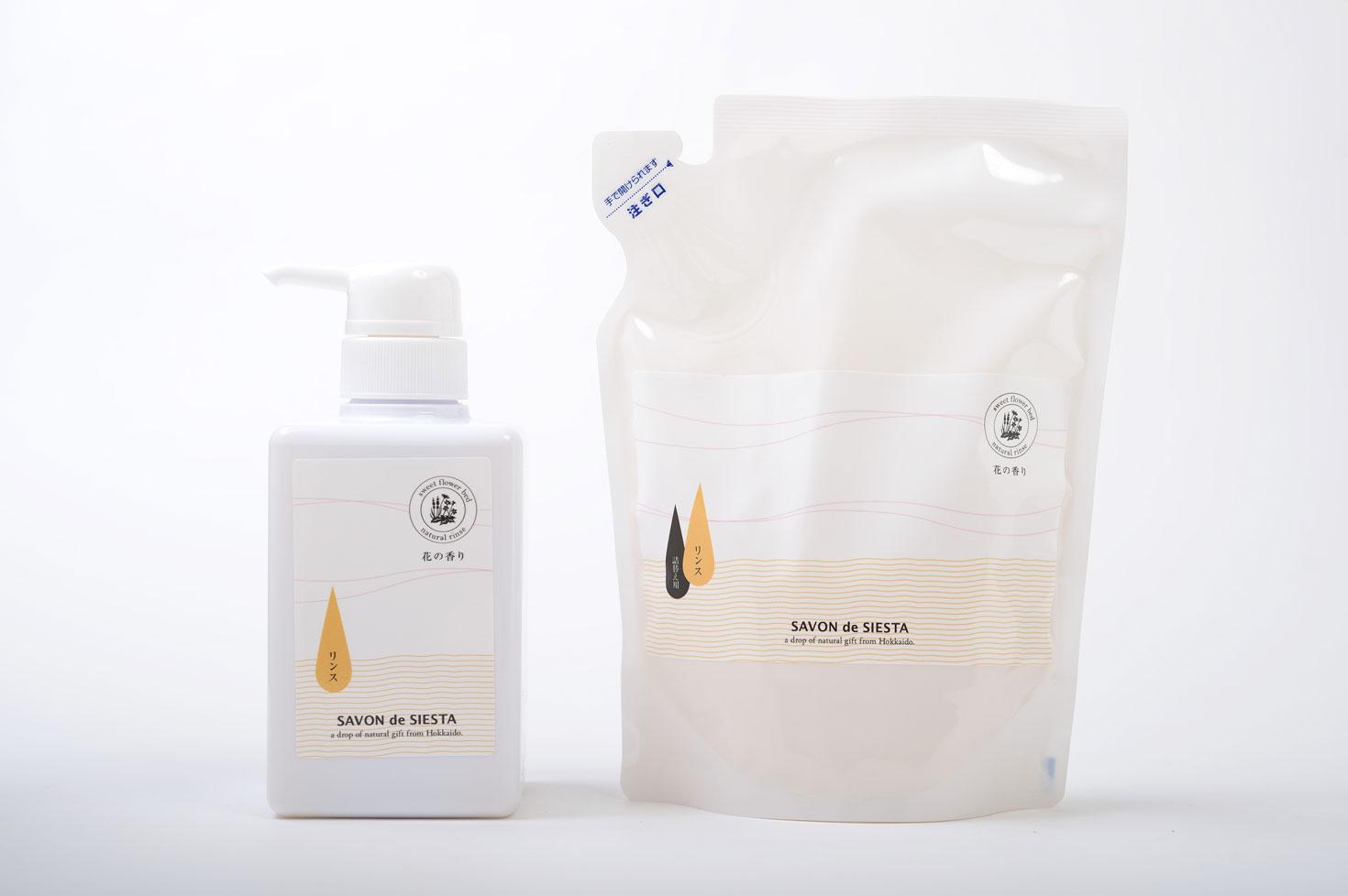 石鹸シャンプー専用リンス-花の香り-