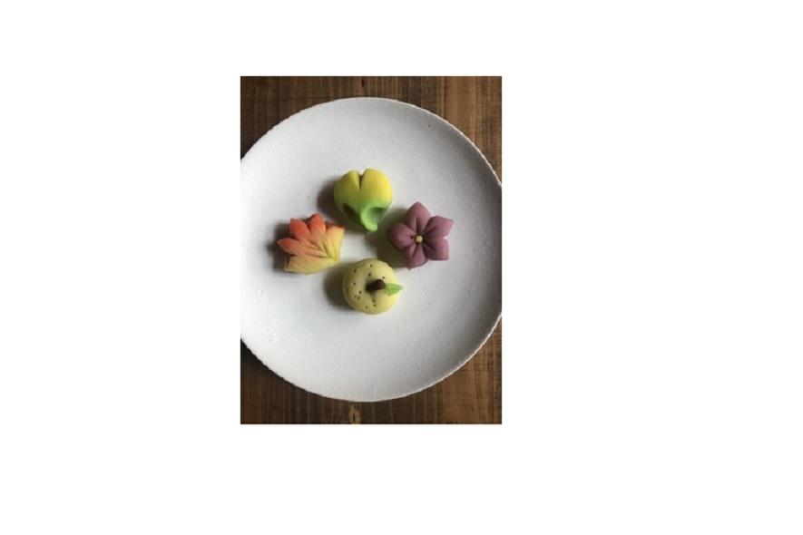 松風さんの和菓子教室「4種の練りきり」