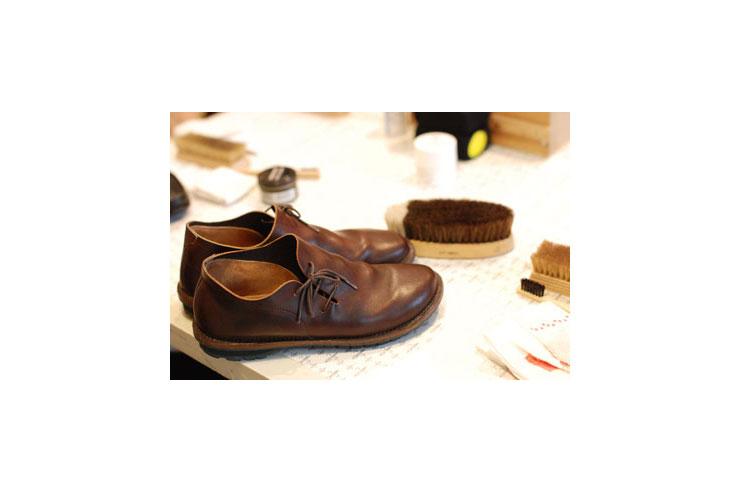 アノンさんの靴のお手入れ教室