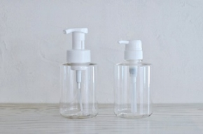 石鹸シャンプーリンス用詰め替えボトル