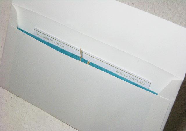 ヴァリエ説明画像、封筒開封時