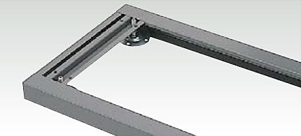 幅木(ベース)の床固定設計