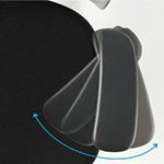 アジャスタブル肘のアームレストパッドの角度調節のイメージ