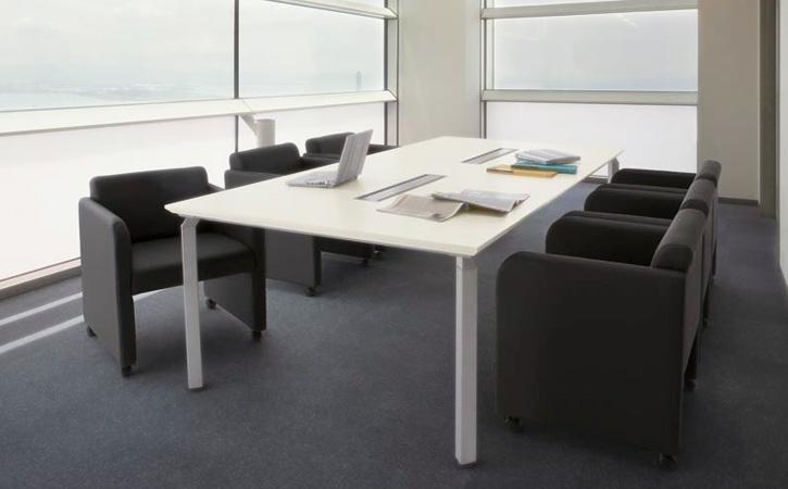 NAIKI (ナイキ) 会議チェアー 応接タイプの使用例: 4