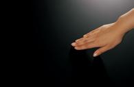 シルクのような手触りのブラック