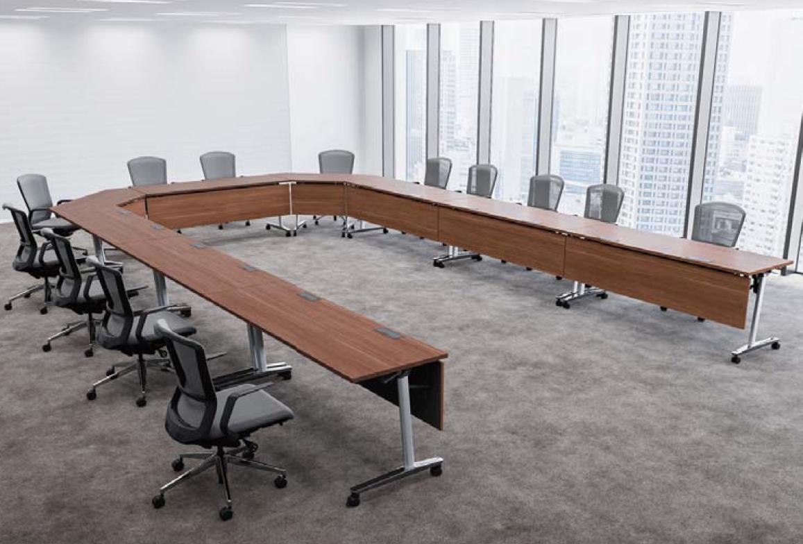 木幕板付、天板・幕板ダークファインウッドタイプの使用例
