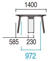 CE脚の図面