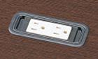 オプションの電源コンセントのイメージ