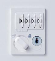 ダイヤルWH錠(ホワイト)