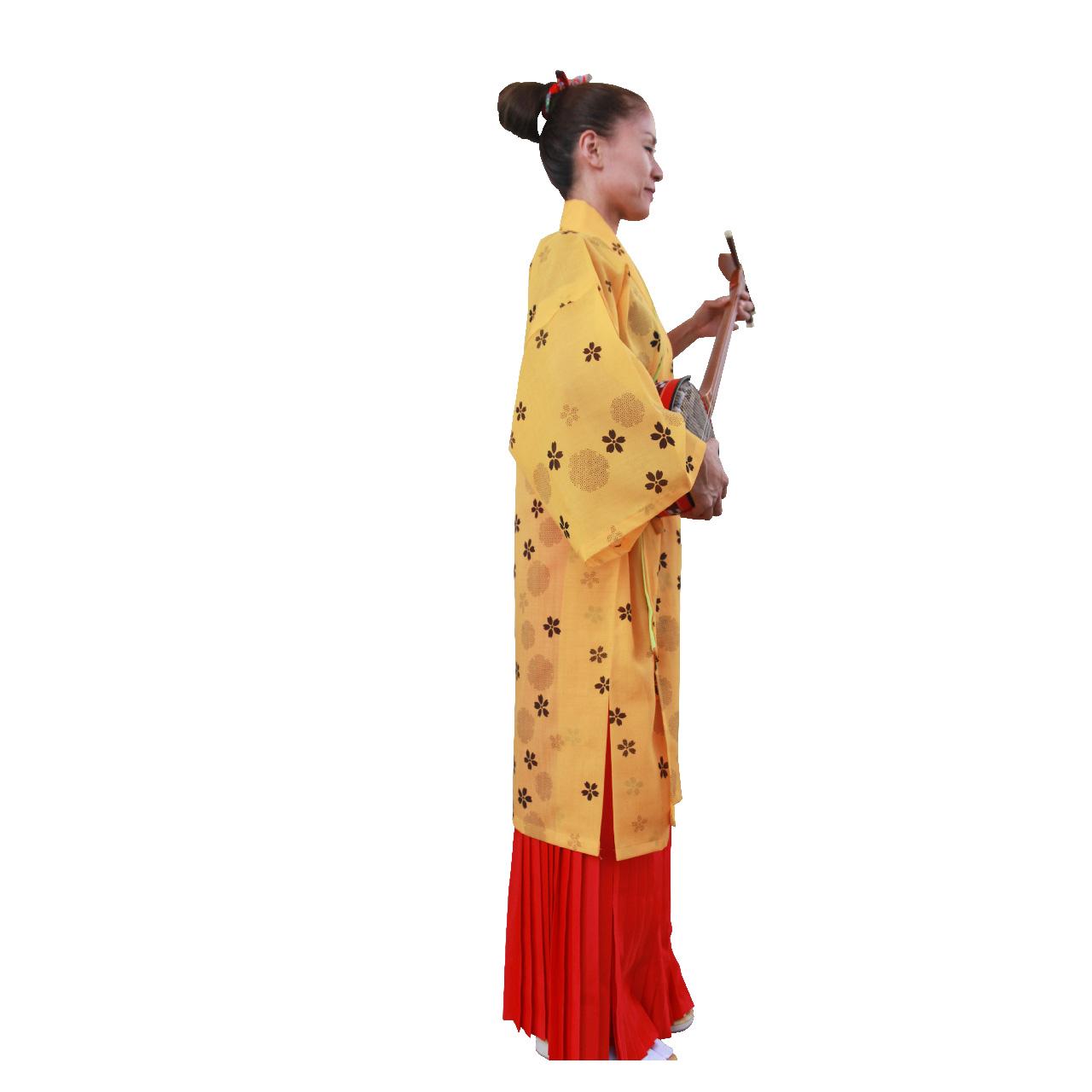 【ハーフ衣裳/稽古着】静万寿菊