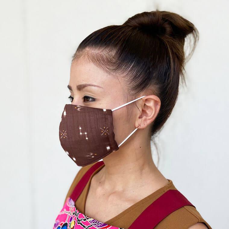 新型コロナウイルスに負けない!つは琉球店オリジナルかりゆしマスク