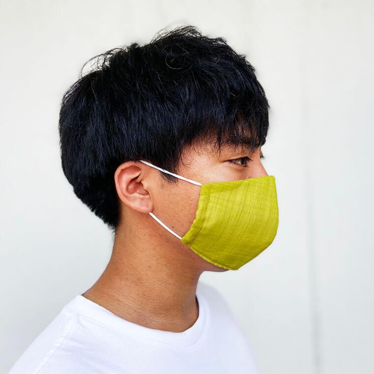 かりゆしマスク着用イメージ