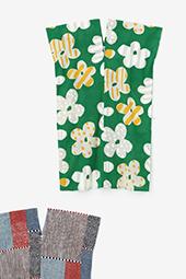 知多木綿 文 長方形衣(ちょうほうけい)