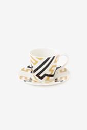テキスタイル コーヒーカップ&ソーサー