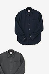 高島縮 シャツ