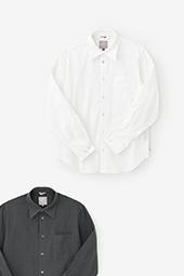 高島縮シャツ