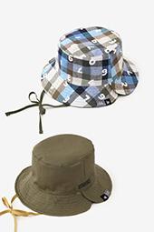 リネン リバーシブル BIKE HAT
