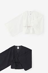 透かし 菱小紋刺繍 小袖寛衣(ひしこもんししゅう こそでかんい)