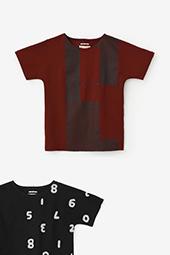 型ぬき長袖Tシャツ