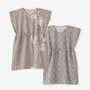 【着衣】綿麻和紙 長方形衣