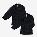 【傾衣】インディゴ 手柄作務衣(たかみさむえ)